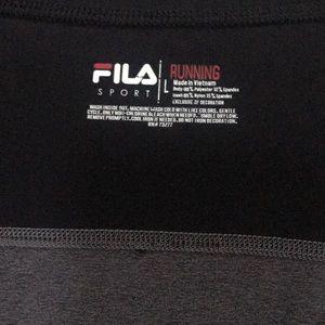 Fila long sleeve running shirt
